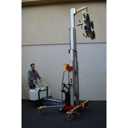 Manipulateur mobile de vitrage BULL - Levée 3900 mm
